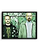 The Meth Kings,Breaking Bad 12x18 inches Canvas Poster ( Rolled )