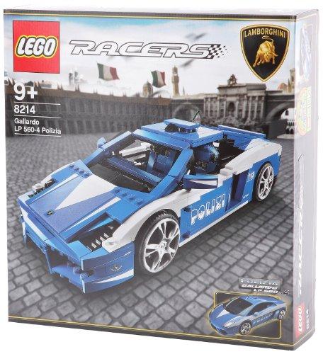 Lego Racers 8214 Lamborgihini Gallardo Lp 560-4 Polizia