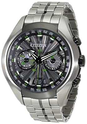 Citizen Men's CC1055-53E Satellite Wave Air Titanium Eco-Drive Watch