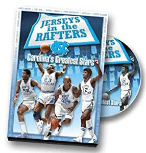 Buy UNC - Jerseys in the Rafters DVD by Team Marketing