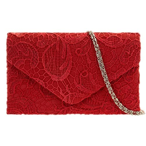Buy 10 Red Clutch Bags