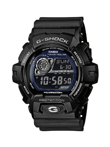 Casio G-SHOCK Men's Solar Digital Watch GR-8900A-1ER with Resin Strap