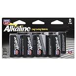Rite Aid Batteries, Alkaline, D, 8 pack