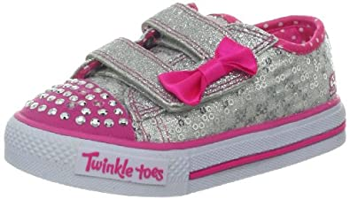 cc0f6b8707a5 Skechers Kids Twinkle Toes Shucckles Sweet Steps Lighted Sneaker (Toddler  Little Kid)
