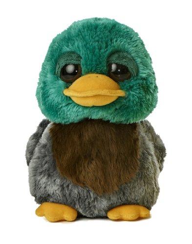 "Aurora World Dreamy Eyes Quackers Duck Plush, 9"""