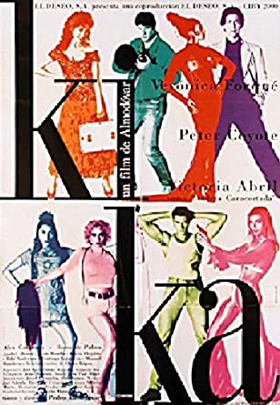 Kika 1993 Original Spain B1 Movie Poster Pedro Almod-var Ver-nica ForquŽ