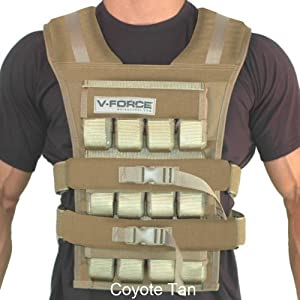 60 Lb. V-Force Weight Vest - Made in USA by WeightVest.com