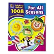 Teacher Created Resources Sticker Books, For All Seasons, 1,088 Stickers/Pack