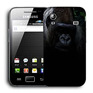 Snoogg Angry Gorilla Printed Protective Phone Back Case Cover For Samsung Galaxy ACE S5830