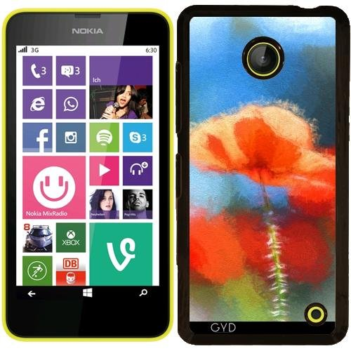 hulle-fur-nokia-lumia-630-lovely-poppypainting-by-utart