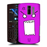 Head Case Designs Mad Emoticon Kawaii Edition Back Case Cover For Nokia Asha 205
