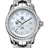 TAG HEUER watch:WUSTL TAG Heuer Watch - Women's Link with Diamond Bezel at M.LaHart