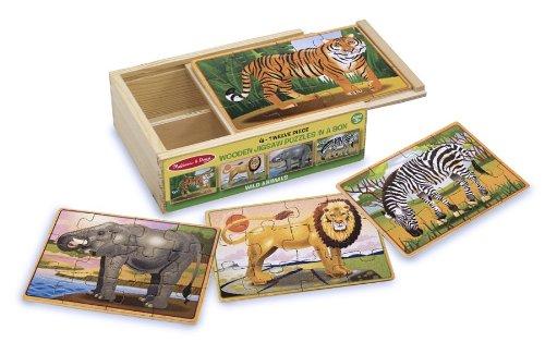 Cheap Fun Melissa & Doug Deluxe Zoo in a Box Jigsaw Puzzles (B000QSLK9G)