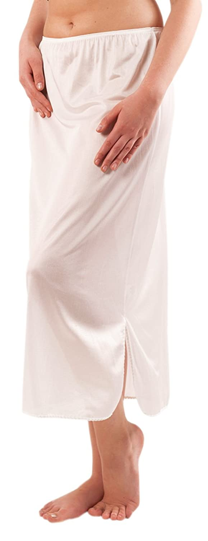 Graziella Damen Halbrock lang Unterrock ca. 82 cm antistatisch Made in Germany 3 Farben Gr. 38 bis 56 online kaufen