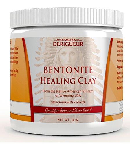 Cosmetics Derigueur Sodium Bentonite Clay Powder ★ Wash