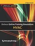Delmar-Online-Training-Simulation-HVAC-4-term-24-months-Printed-Access-Card