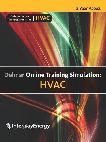 Delmar Online Training Simulation: Hvac 2-Year Printed Access Card