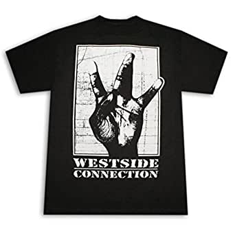 Ice Cube 39 West Side Connection 39 Black T Shirt