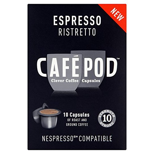 Buy Cafepod 10 Ristretto Coffee Pods 10 Servings from Cafepod