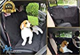 Pet Protection PPROTECT-1234 Dog Car Seat Cover with Two Bonus Car Door Guards