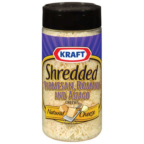 Kraft Grated Cheese: Shredded Parmesan Romano & Asiago Cheese, 7 Oz (Pack Of 4) (Kraft Grated Romano Cheese compare prices)