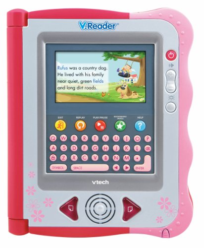 Vtech - V.Reader Animated E-Book System - Pink