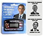 Obama Countdown Timer Clock with Obam...