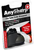 AnySharp Plus Knife & Scissor Sharpener, Grey