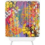 DENY Designs Stephanie Corfee Bluesy Shower Curtain, 69 by 72-Inch