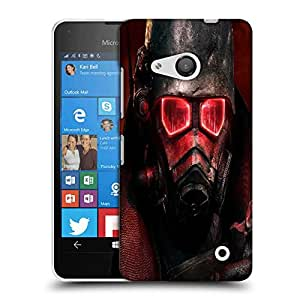 Snoogg Red Eye Army Designer Protective Phone Back Case Cover For Nokia Lumia 550