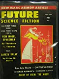 img - for Future Science Fiction No. 44, August 1959 book / textbook / text book