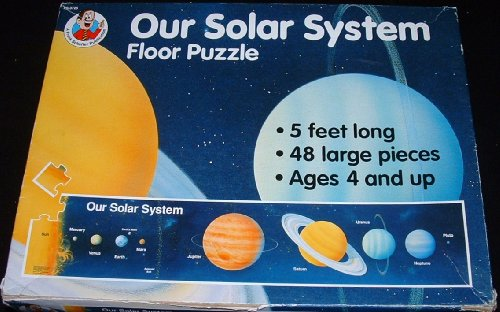 Cheap A Frank Schaffer Publication Our Solar System Floor Puzzle 48 pc 5 Ft. long (B0037GB39G)