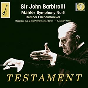 Symphony No. 6 (Barbirolli, Berliner Philharmoniker)
