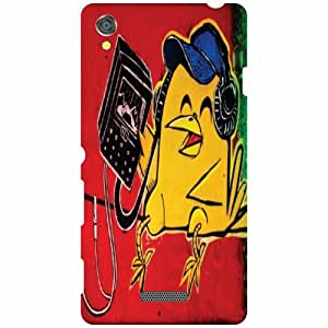 Back Cover For Sony Xperia T3 D5102 (Printed Designer)