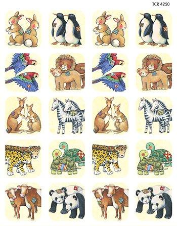 Sw Noahs Ark Stickers -- Case of 14