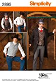 Simplicity Sewing Pattern 2895 - Men Costumes Sizes: AA (38-40-42-44)