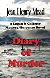 img - for Diary of Murder: A Logan & Cafferty Mystery/Suspense Novel book / textbook / text book