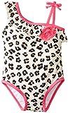 Little Me Baby-Girls Infant Skin Swimsuit, White Print, 6-9 Months
