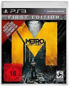 Metro: Last Light - First Edition - 100% uncut - [PlayStation 3]