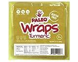 Paleo Wraps,  Gluten Free Turmeric Wr...