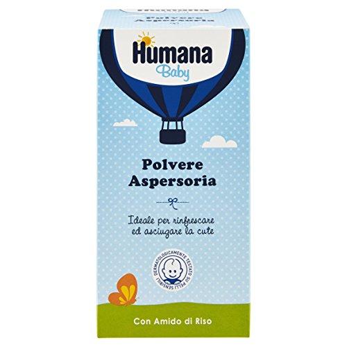 Humana Polvere Aspersoria con Amido di Riso - 150 gr