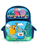 Full Size Blue Jumping Adventure Time Backpack - Adventure Time Bookbag