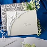 Calla lily design wedding guest book, 1 piece