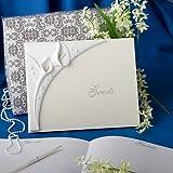 Calla lily design wedding guest book, 1 piece
