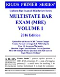 img - for Rigos Primer Series Uniform Bar Exam (UBE) Review Series Multistate Bar Exam (MBE) Volume 1 book / textbook / text book
