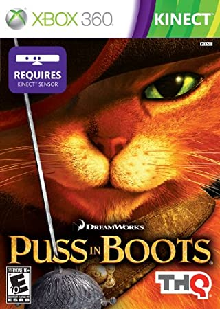 Puss N Boots Kinect