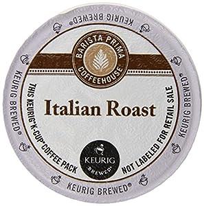 Keurig, Barista Prima Coffeehouse, Italian Roast, K-Cup packs, 72 Count