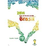 2014 FIFA ワールドカップ ブラジル オフィシャルライセンス ポスター インテリア (英語) Official Poster (English) 【正規品オフィシャルグッズ】【並行輸入品】