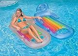 Intex King Kool Swimming Pool Lounger with Headrest (Pair)