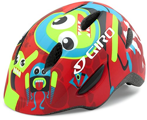 Giro Scamp Helmet - Kid's Matte Red Rockets Small (Red Drift Helmet compare prices)